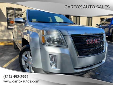 2013 GMC Terrain for sale at Carfox Auto Sales in Tampa FL