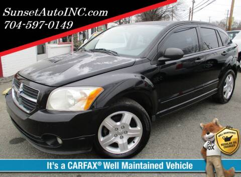 2007 Dodge Caliber for sale at Sunset Auto in Charlotte NC