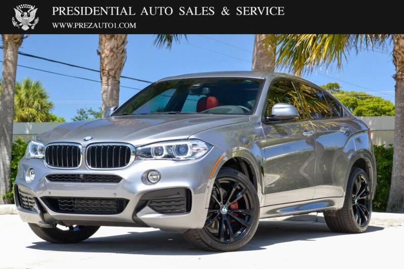 2018 BMW X6 for sale in Delray Beach, FL