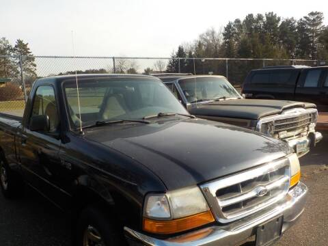 2000 Ford Ranger for sale at Route 65 Sales & Classics LLC - Classic Cars in Ham Lake MN