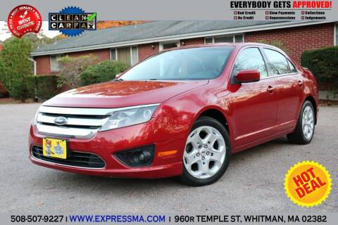 2010 Ford Fusion for sale at Auto Sales Express in Whitman MA