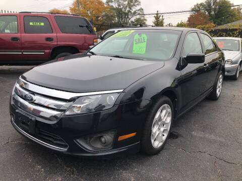 2010 Ford Fusion for sale at RJ AUTO SALES in Detroit MI