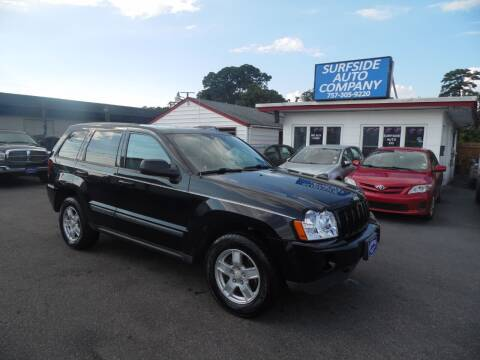 2007 Jeep Grand Cherokee for sale at Surfside Auto Company in Norfolk VA