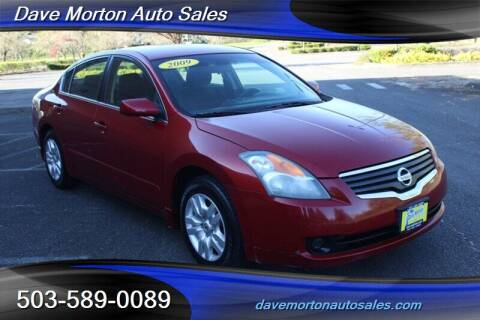2009 Nissan Altima for sale at Dave Morton Auto Sales in Salem OR