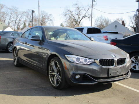 2016 BMW 4 Series for sale at SOUTHFIELD QUALITY CARS in Detroit MI