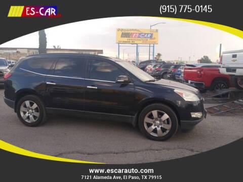 2012 Chevrolet Traverse for sale at Escar Auto in El Paso TX