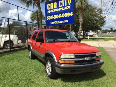 1999 Chevrolet Blazer for sale at Car City Autoplex in Metairie LA
