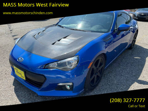 2015 Subaru BRZ for sale at M.A.S.S. Motors - West Fairview in Boise ID
