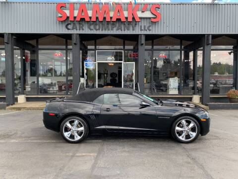 2013 Chevrolet Camaro for sale at Siamak's Car Company llc in Salem OR