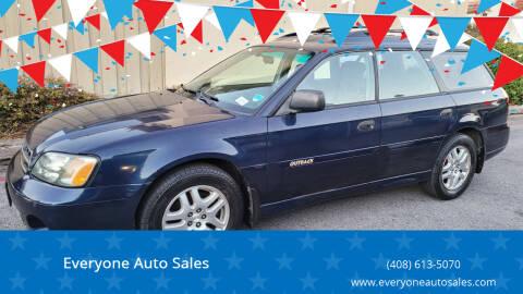 2002 Subaru Outback for sale at Everyone Auto Sales in Santa Clara CA