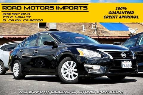 2015 Nissan Altima for sale at Road Motors Imports in El Cajon CA
