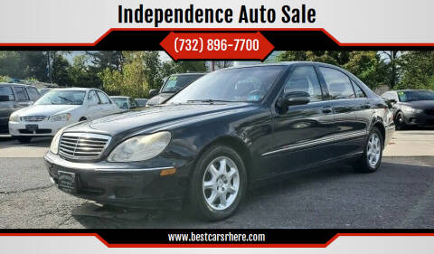 2002 Mercedes-Benz S-Class for sale at Independence Auto Sale in Bordentown NJ