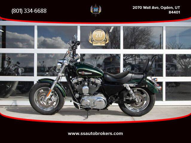 2016 Harley-Davidson XL1200C Sportster 1200 Custom for sale at S S Auto Brokers in Ogden UT