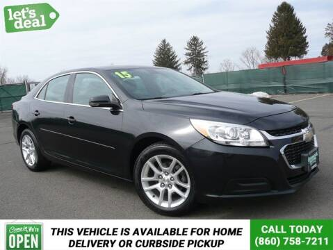 2015 Chevrolet Malibu for sale at Shamrock Motors in East Windsor CT