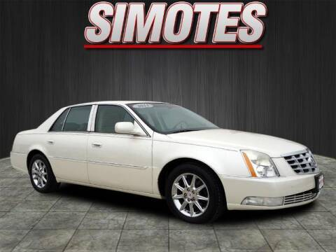 2011 Cadillac DTS for sale at SIMOTES MOTORS in Minooka IL