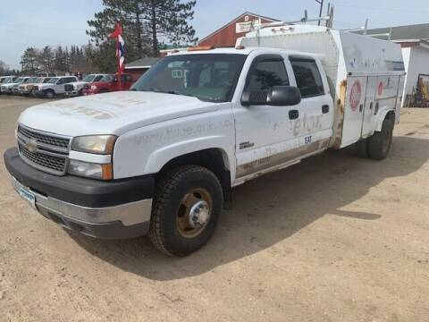 2005 Chevrolet Silverado 3500 for sale at Four Boys Motorsports in Wadena MN