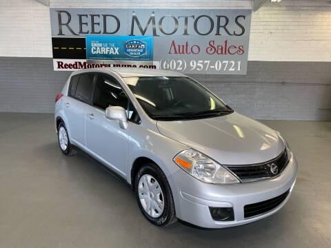 2011 Nissan Versa for sale at REED MOTORS LLC in Phoenix AZ