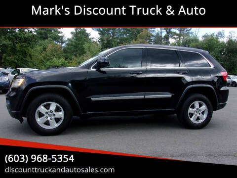 2012 Jeep Grand Cherokee for sale at Mark's Discount Truck & Auto in Londonderry NH