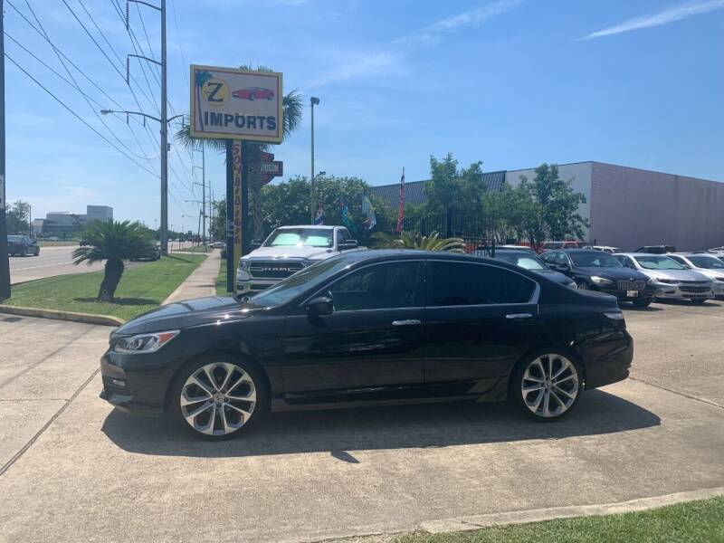 2016 Honda Accord for sale at A to Z IMPORTS in Metairie LA