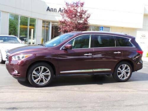 2013 Infiniti JX35 for sale at Highlands Auto Exchange in Port Murray NJ