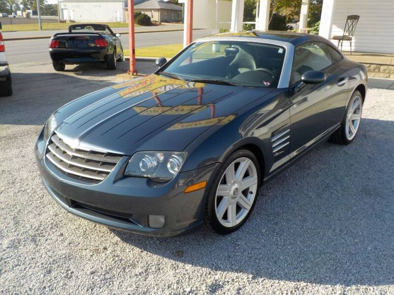 2008 Chrysler Crossfire for sale at SEBASTIAN AUTO SALES INC. in Terre Haute IN