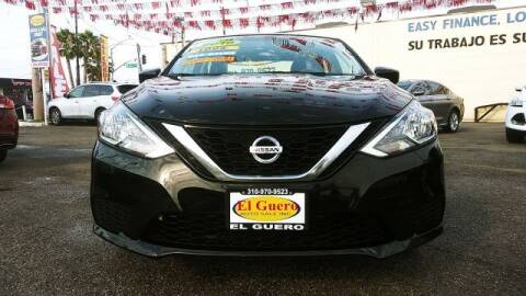 2016 Nissan Sentra for sale at El Guero Auto Sale in Hawthorne CA