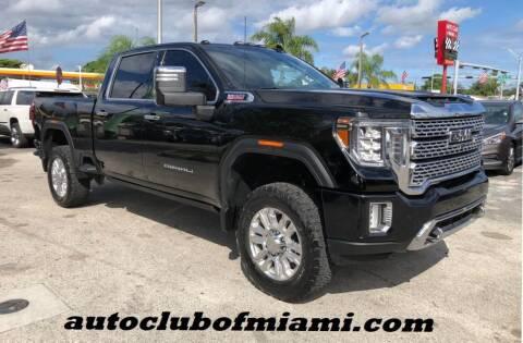 2020 GMC Sierra 2500HD for sale at AUTO CLUB OF MIAMI, INC in Miami FL