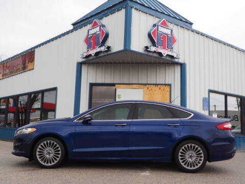 2016 Ford Fusion for sale at DRIVE 1 OF KILLEEN in Killeen TX
