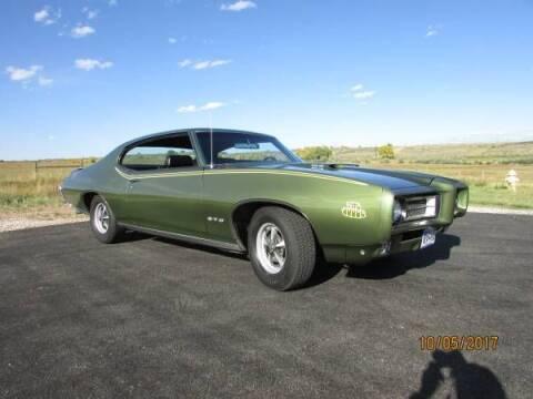 1969 Pontiac GTO for sale at Classic Car Deals in Cadillac MI