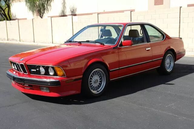 1988 BMW M6 12