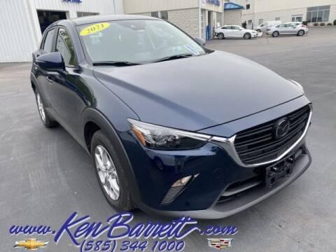 2021 Mazda CX-3 for sale at KEN BARRETT CHEVROLET CADILLAC in Batavia NY