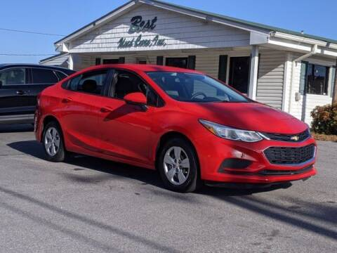 2018 Chevrolet Cruze for sale at Best Used Cars Inc in Mount Olive NC