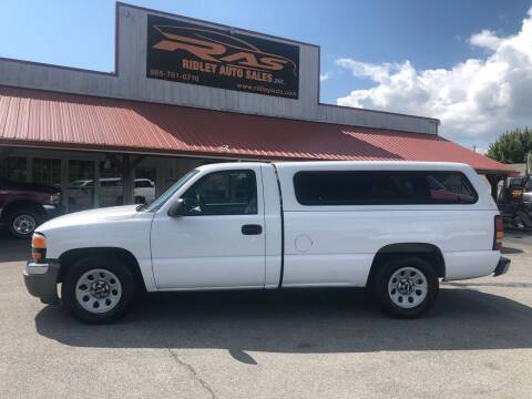 2007 GMC Sierra 1500 for sale at Ridley Auto Sales, Inc. in White Pine TN
