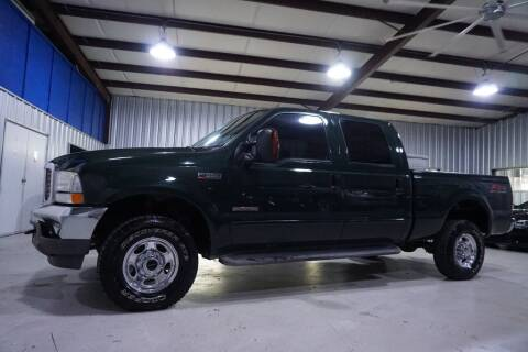 2003 Ford F-350 Super Duty for sale at SOUTHWEST AUTO CENTER INC in Houston TX