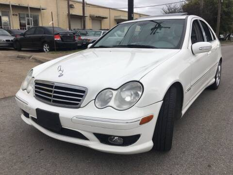 2006 Mercedes-Benz C-Class for sale at TETCO AUTO SALES  / TETCO FUNDING in Dallas TX
