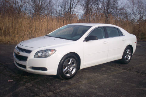 2012 Chevrolet Malibu for sale at Action Auto Wholesale - 30521 Euclid Ave. in Willowick OH
