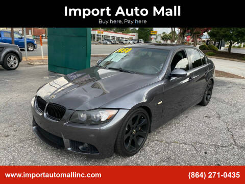 2007 BMW 3 Series for sale at Import Auto Mall in Greenville SC