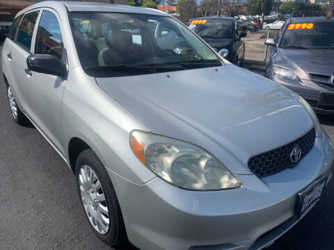 2003 Toyota Matrix for sale at CARZ in San Diego CA