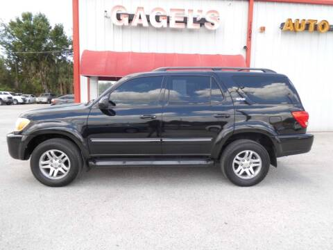 2006 Toyota Sequoia for sale at Gagel's Auto Sales in Gibsonton FL