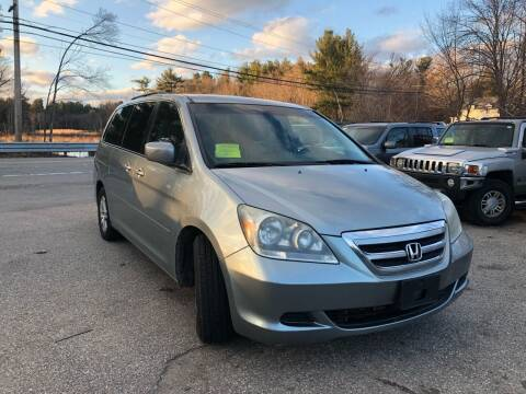 2007 Honda Odyssey for sale at Royal Crest Motors in Haverhill MA