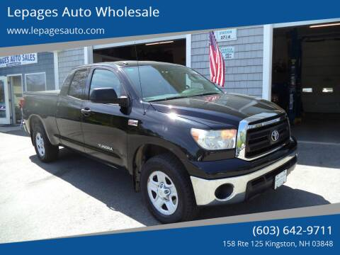 2011 Toyota Tundra for sale at Lepages Auto Wholesale in Kingston NH