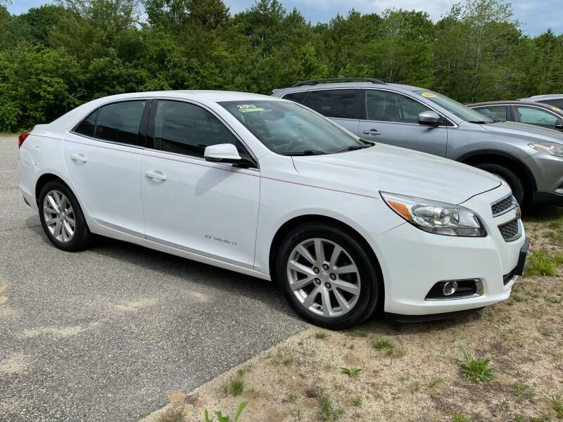 2013 Chevrolet Malibu for sale at Downeast Auto Inc in South Waterboro ME