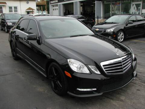 2013 Mercedes-Benz E-Class for sale at CLASSIC MOTOR CARS in West Allis WI