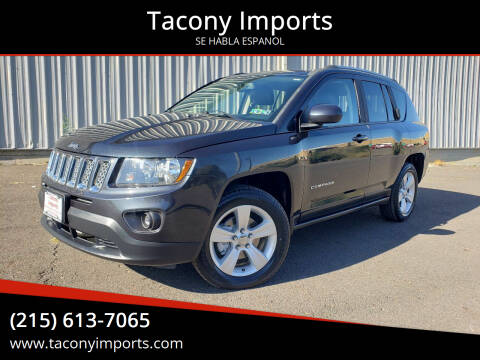 2014 Jeep Compass for sale at Tacony Imports in Philadelphia PA