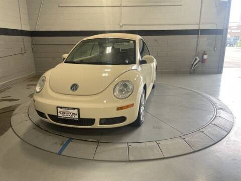 2009 Volkswagen New Beetle Convertible for sale at Luxury Car Outlet in West Chicago IL
