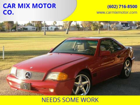 1992 Mercedes-Benz 500-Class for sale at CAR MIX MOTOR CO. in Phoenix AZ
