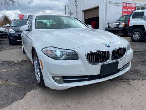 2011 BMW 5 Series for sale at GRAND USED CARS  INC in Little Ferry NJ