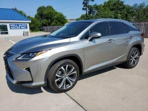 2019 Lexus RX 350 for sale at Kell Auto Sales, Inc - Grace Street in Wichita Falls TX
