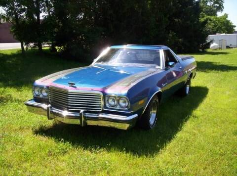 1976 Ford Ranchero for sale at Classic Car Deals in Cadillac MI