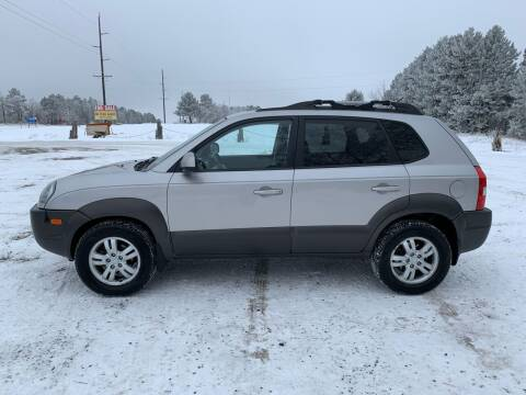 2006 Hyundai Tucson for sale at Motors-N-More Online Auctions in Park Rapids MN